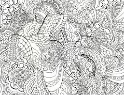 Super Hard Abstract Coloring Pages For Adults Animals | intricate coloring page from leeann owens on more coloring