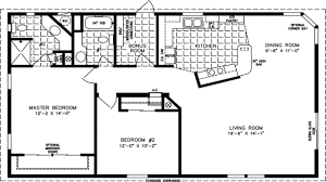 16 X 80 Mobile Home Floor Plans by 40 Floor Plans For Ranch Homes 24 X 80 Ranch Style House Plans