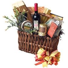 wine and cheese gifts best the 32 best images about gift baskets on california