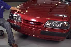 fox mustang restoration how to install fox black one headlights 87 93