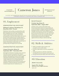 Resume Samples Of Administrative Assistant by Resume Format For Experienced Professionals 2017 Resume 2017