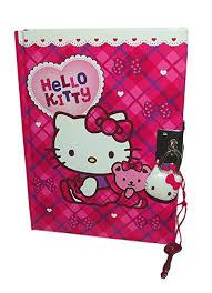 hello ribbon hello checkers ribbon lock diary toys
