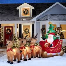 Outdoor Christmas Duck Decorations by Shop Christmas Decorations At Lowes Com
