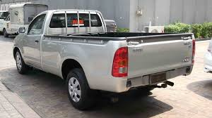 used hilux vigo single cabin