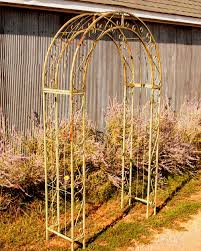 trellis arch top part 38 wrought iron round top garden