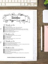wedding planner terms and conditions template how to put together your perfect free wedding binder 42 free black wedding binder timeline