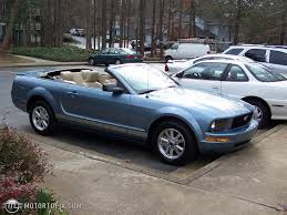 convertible mustang 2007 ford mustang convertible pony package id 14803
