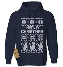 meowy christmas sweater t shirts hoodies sweatshirts for the whole family