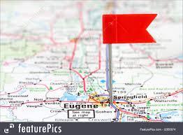 Map Of Eugene Oregon by Eugene On Oregon Map Image