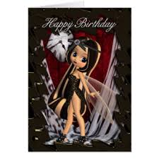 gothic birthday greeting cards zazzle com au
