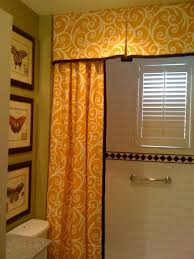 Shower Curtain With Matching Window Curtain Living Room Excellent Shower Curtain Valance Eclectic Bathroom