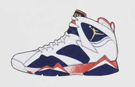tinker hatfield air jordan 7 olympic sketches sneaker bar detroit