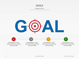 Powerpoint Template Goals At Slideshop Com Taking Care Of Business Sle Ppt Templates