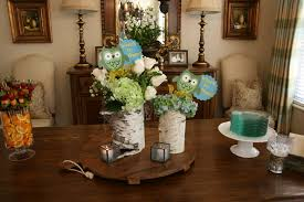 owl centerpieces steering team baby shower ridge mops