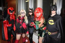 Batwoman Halloween Costume Otakuthon 2013 Halloween Party Batman Poison Ivy Catwom U2026 Flickr