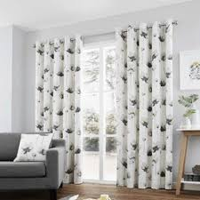 White And Grey Curtains Grey Curtains Modern Curtains Terrys Fabrics