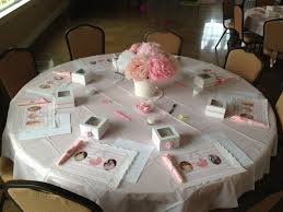 baby shower table settings baby shower table set up our events pinterest baby shower