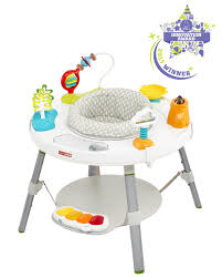 table height baby bouncer explore more baby s view 3 stage activity center skiphop com