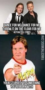 Roddy Piper Meme - farce the music roddy piper vs fgl