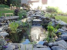 Backyard Pond Ideas With Waterfall Small Pond Waterfall Design Ideas Outdoor Waterfall Pond Designs