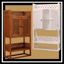 Wicker Bathroom Furniture Storage Cottage Wicker Wall Cabinet Shelf Via Wickerparadise Bathroom