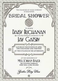 Gatsby Invitations Bridal Shower Invitations Bridal Shower Invitations Gatsby