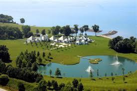 waterford estate u2013 modernist white castle on lake erie