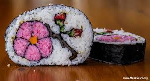 flower sushi roll art u2013 amazing sushi sushi pictures