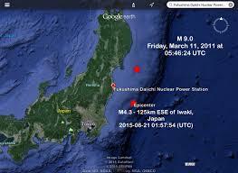 Fukushima Radiation Map Fukushima Offshore Earthquake Reminder U2013 M 4 3 U0026 M 4 5 F Nuclear