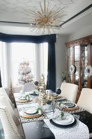 a merry and metallic christmas dining room 2016 this is our bliss