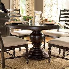 round pedestal dining table for small dining room