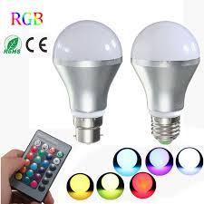 color changing flood light bulb rgb led light bulb e27 b22 3w 10w 16 color changing led spotlight