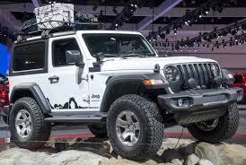 grey jeep wrangler 2 door jeep shows two mopar modded wranglers
