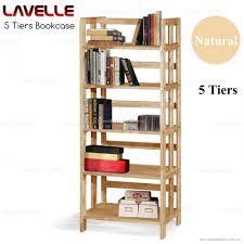 Wooden Bookshelf Wooden Bookcase Malaysia Classic Wooden Bookshelves 5 Levels