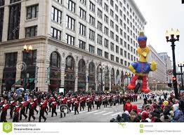 chicago thanksgiving parade editorial photo image 22225326
