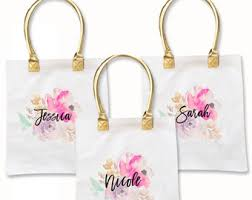 bridesmaids gift bags bags for bridesmaids etsy