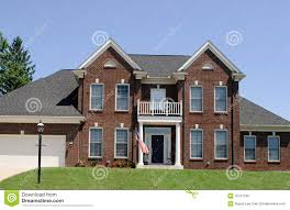 brick house twin peaks brick house royalty free stock images image 15731199