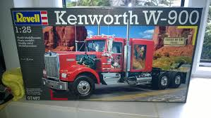 new kenworth models unboxing revell kenworth w900 youtube