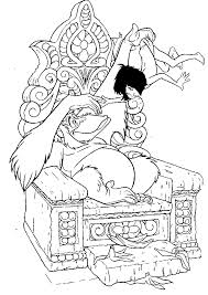 printable coloring pages the jungle book coloring pages free