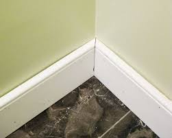 bathroom renovation how to install baseboards u0026 trim young