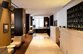 Residential Interior Design by Luxury Residential Lobby Lounge Interior Design Setai 400 Fifth
