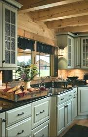 cabin kitchens ideas log cabin kitchen cabinets ninemonths co