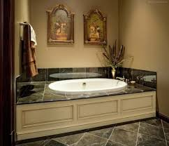 custom bathroom vanity and bathtub surround in baltimore maryland