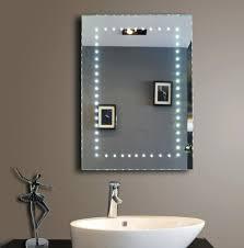 Bathroom Mirror Shaver Socket Led Bathroom Mirror With Shaver Socket Medium Size Of Bathrooms