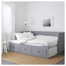 Ikea Bed Frame Hemnes Hemnes Day Bed Frame With 3 Drawers Grey 80x200 Cm Ikea