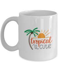 coffee mug tropical cutie by tech fashion coffee mugs tea