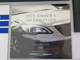 2017 used chrysler 200 owners manual 2013 for sale sport cars
