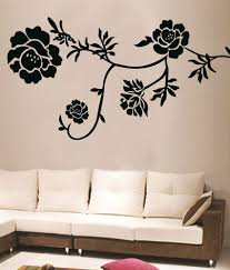 floral wall sticker todosobreelamor info floral wall sticker decals arts black floral wall stickers buy decals arts black floral wall stickers