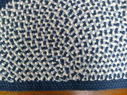 8 Round Braided Rugs by 2 U0027 X 3 U00271