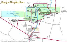 Map Of Cambodia Map Of Cambodia Guideinangkor Com